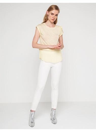 Love'n Fashion Paris Tişört Sarı